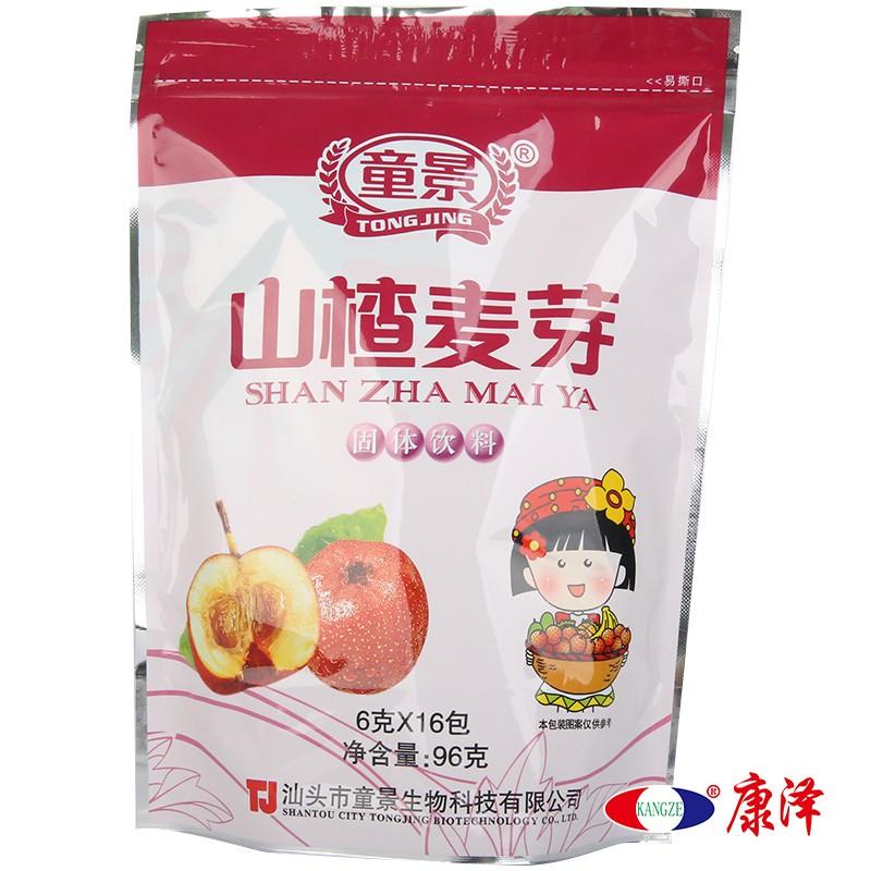 童景 山楂麦芽固体饮料 6g*16袋/包